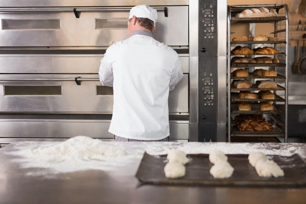 Four mixte pour la boulangerie