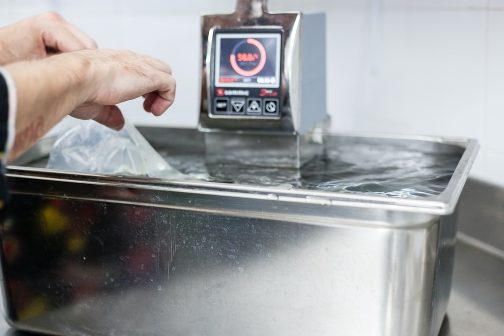 Matériel de cuisson basse température